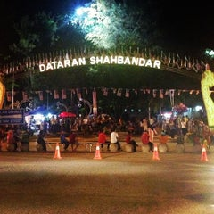 Photo taken at Dataran Shah Bandar Kuala Terengganu by MOHD SABRI A. on 8/30/2013