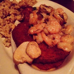 Photo taken at Crescent City Grill by Hub City Life on 3/10/2015