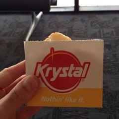 Photo taken at Krystal by Ben K. on 5/31/2014