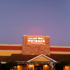 Photo taken at Outback Steakhouse by Voddie A. on 10/20/2012
