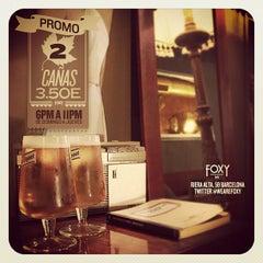 Foto tirada no(a) Foxy Bar por FoxyBar B. em 11/25/2012