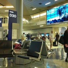 Photo taken at Terminal D by Phil S. on 9/30/2012