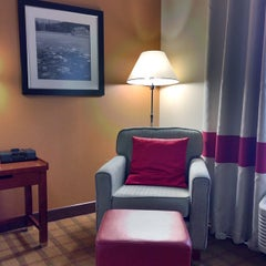 Photo taken at Four Points by Sheraton Calgary Airport by Phil S. on 9/9/2014