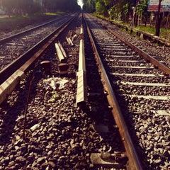 Photo taken at Estación Malaver [Línea Mitre] by Karen O. on 10/30/2014