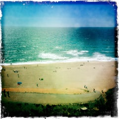 Photo taken at Praia das Bicas by Bruno M. on 7/1/2012