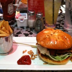 Photo taken at KGB: Kerry's Gourmet Burgers by Brandon S. on 8/8/2012