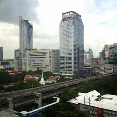 Photo taken at Novotel Bangkok on Siam Square by Narongsak T. on 6/23/2012
