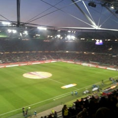 Photo taken at HDI Arena by Piet E. on 3/15/2012