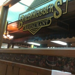 Photo taken at Baldknobbers Country Restaurant & Buffet by Emily P. on 8/13/2012