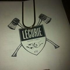 Photo taken at L'Écurie Bar et Table by Les Live F. on 3/7/2012