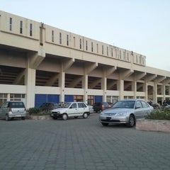Photo taken at Pakistan Sports Complex by Qasim M. on 6/19/2012