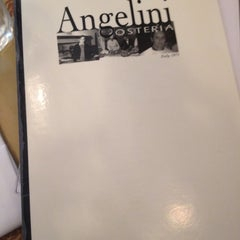 Photo taken at Angelini Osteria by Jeff T. on 5/9/2012