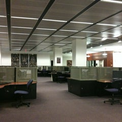 Photo taken at Earl Gregg Swem Library by Lulú D. on 3/4/2012