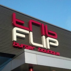 Photo taken at FLiP Burger Boutique by MD M. on 6/17/2012