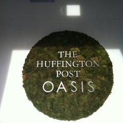 Photo taken at Huffington Post Oasis by Rachel S. on 8/28/2012