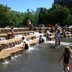Photo taken at Jamison Square Park by Dan V. on 7/11/2012