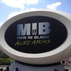 Photo taken at MEN IN BLACK: Alien Attack by Todd on 7/27/2012