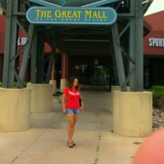 Photo taken at The Great Mall of the Great Plains by Madeth B. on 8/13/2012