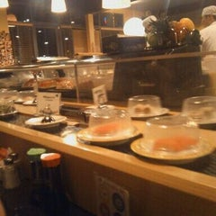 Photo taken at Teharu Sushi by davis r. on 2/14/2012