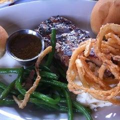 Photo taken at Dekker's Mesquite Grill by Justin E. on 4/8/2012