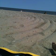 Photo taken at Gimli Public Beach by Kristen on 8/10/2012