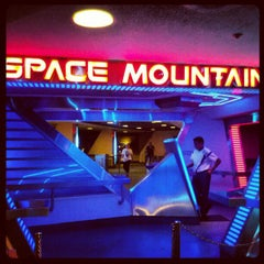 Photo taken at Space Mountain by Marz T. on 9/10/2012