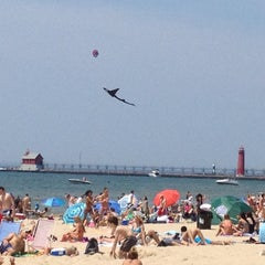 Photo taken at Grand Haven State Park by Chels🙊 on 5/20/2012