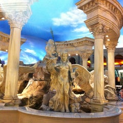Photo taken at The Forum Shops at Caesars by E T. on 7/17/2012
