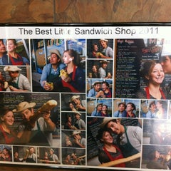 Photo taken at The Best Little Sandwich Shop by Riley W. on 4/16/2012