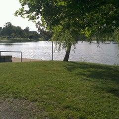 Photo taken at Delaware Park by Pippi S. on 6/8/2012