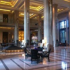 Photo taken at Siam Kempinski Hotel Bangkok by Natee I. on 8/4/2012