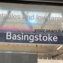 Photo taken at Basingstoke Railway Station (BSK) by Alan A. on 6/25/2012