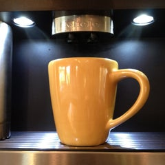 Photo taken at Built-in Miele Coffee-maker at RE Technology HQ by Victor L. on 4/17/2012