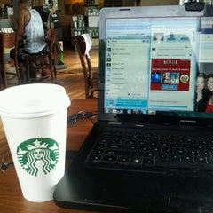 Photo taken at Starbucks by Lauren C. on 3/22/2012