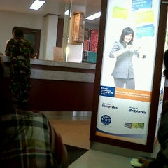 Photo taken at Bank BRI by @ sAndy n. on 6/26/2012