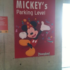 Photo taken at Mickey & Friends Parking Structure by Miss M on 6/3/2012