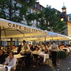 Photo taken at Café du Centre by Munefumi T. on 6/30/2012