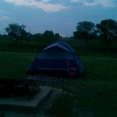 Photo taken at Double Nickle Campground by Linda C. on 6/29/2012