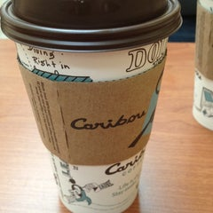 Photo taken at Caribou by Laura F. on 3/31/2012