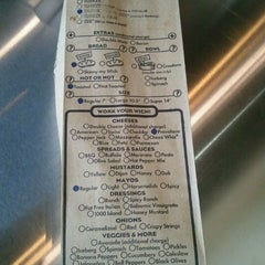 Photo taken at Which Wich? Superior Sandwiches by Wendy W. on 6/25/2012