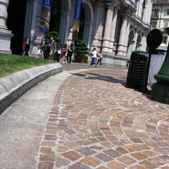 Photo taken at Piazza Carlo Alberto by Alberto L. on 5/25/2012