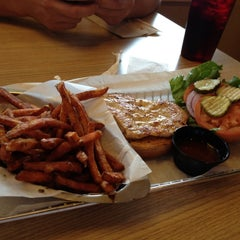 Photo taken at Smashburger by S on 8/4/2012