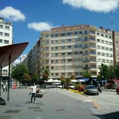Photo taken at Praza Roxa by Susana P. on 6/4/2012
