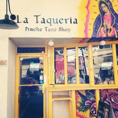 Photo taken at La Taqueria by Tyler Y. on 5/29/2012