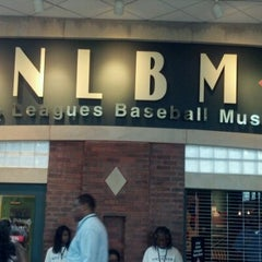 Photo taken at Negro Leagues Baseball Museum by BTay on 7/9/2012