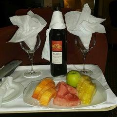 Photo taken at Le Méridien Ibom Hotel & Golf Resort by Seun O. on 5/13/2015