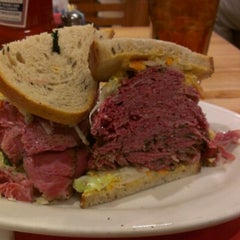 Photo taken at Sarge's Delicatessen by Shel H. on 10/9/2012