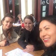 Photo taken at Le Café du Théâtre TNS by Mira D. on 3/27/2014