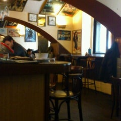 Photo taken at Restaurace Jáma | The Hollow by Bogomil S. on 2/13/2013