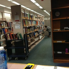 Photo taken at Snell Library by Yifei T. on 3/7/2013